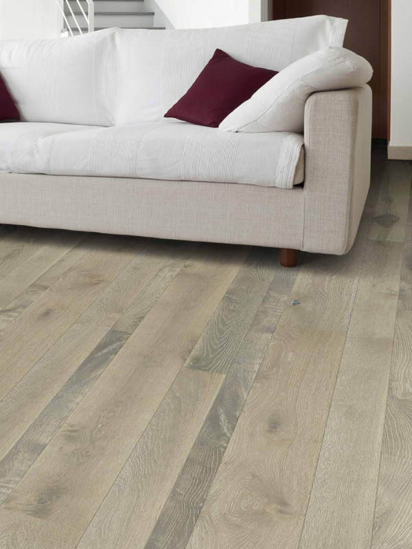 7 Ply Engineered Core Random Width 3 5 6 9 Lengths 24 86 Wear Layer 3mm Magique Monumental Planks Transform Normal Interior Spaces Into